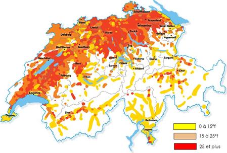 Carte Suisse TH