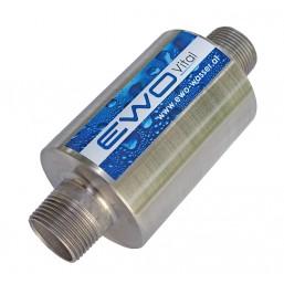 Traitement de l\'eau naturel pour piscine, raccord Ø  26 mm, activé votre eau et réduisez les agents chimiques