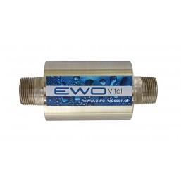 Traitement de l\'eau naturel pour piscine, raccord Ø  40 mm, activé votre eau et réduisez les agents chimiques
