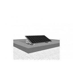 Support pour panneau toit plat