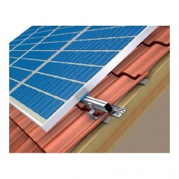 Support pour 2 panneaux toiture standard