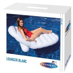 Lounger blanc
