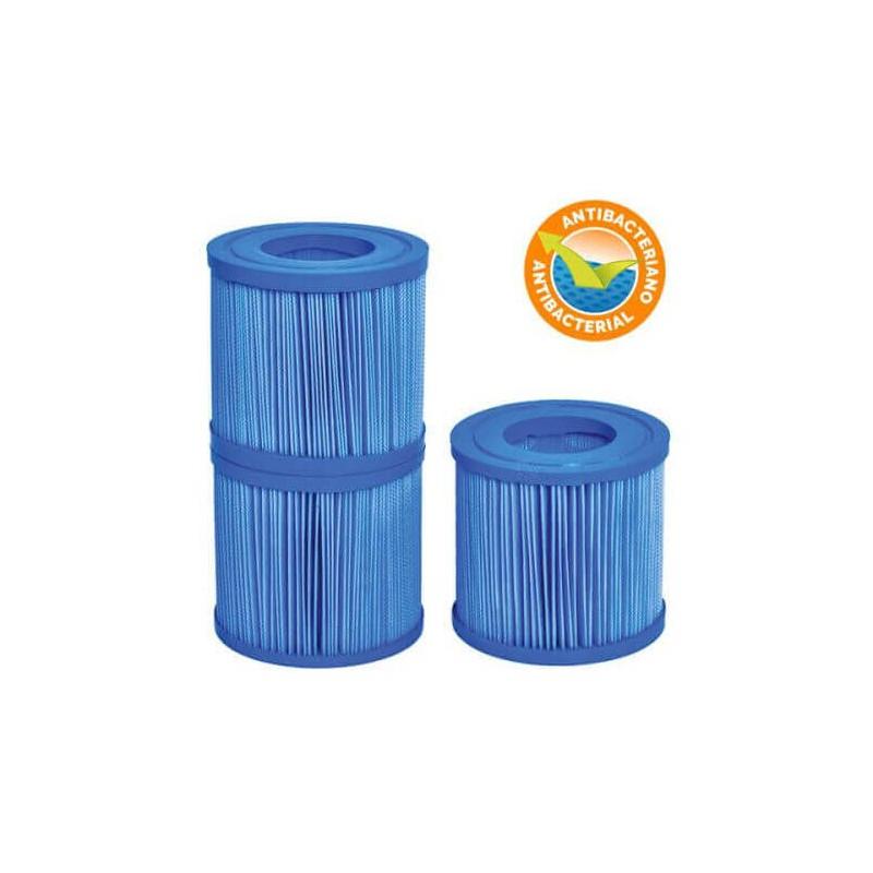 Filtres antibactériens Jacuzzi NetSpa (lot de 3 filtres)