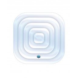 Couvercle gonflable pour Jacuzzi spa carré 135 x135 cm