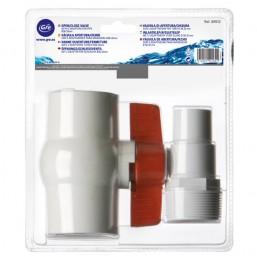 Vanne diamètre 38/32 mm